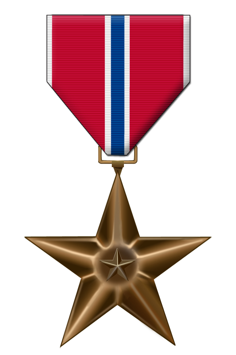Three Airmen Recognized With Bronze Star Medals